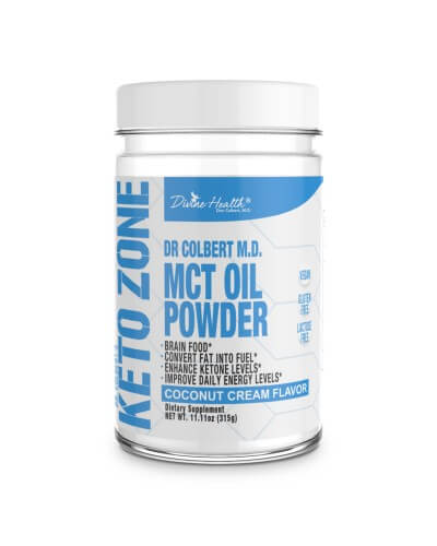 KETO ZONE PREMIUM MCT OIL POWDER