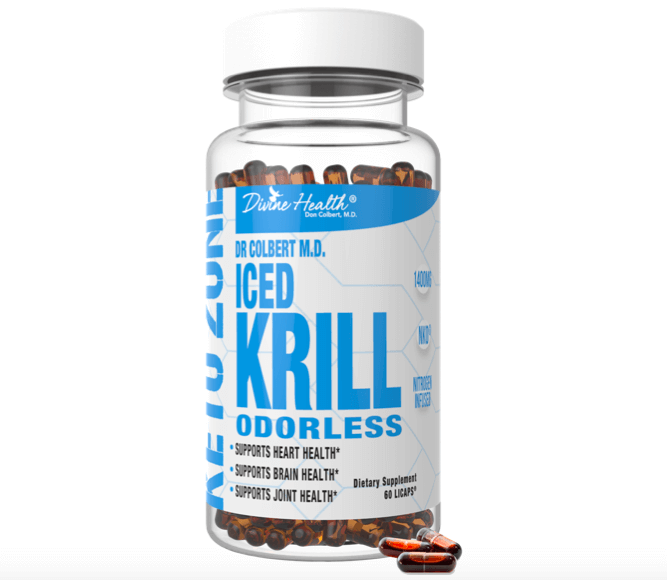 Keto Zone Iced Krill Supplement