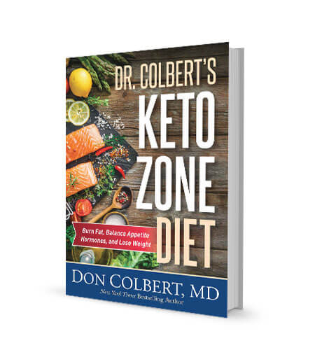 DR' COLBERT'S KETO ZONE DIET BOOK