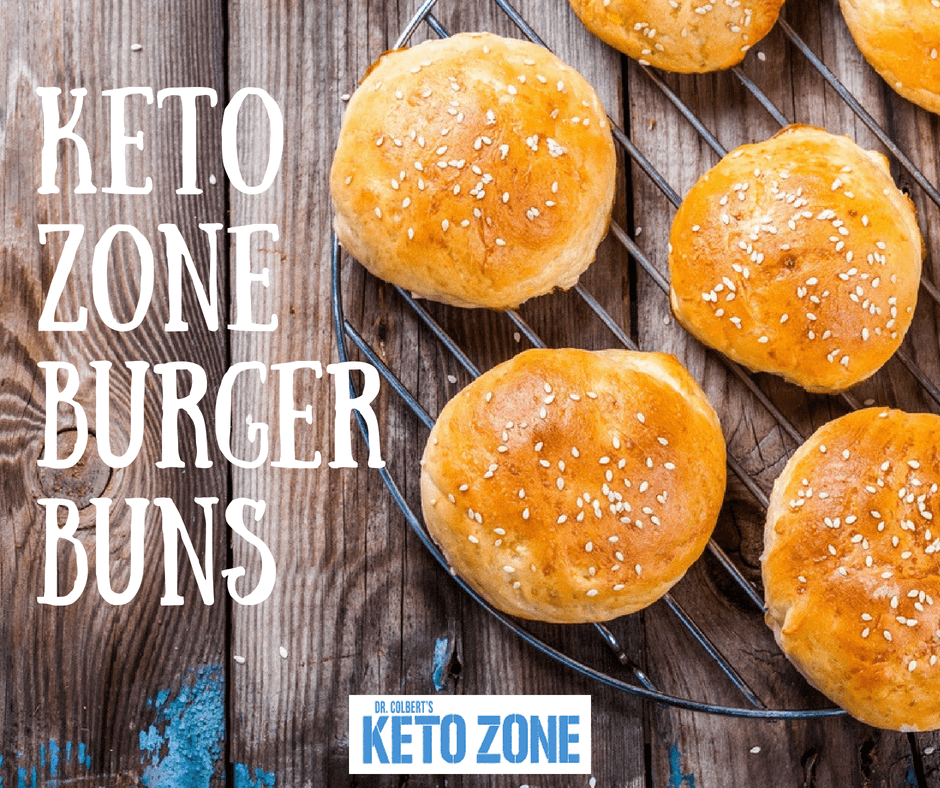 Keto Zone Burger Buns | Keto Zone Diet by Dr  Don Colbert